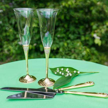 Свадебные бокалы, арт. SVg 001