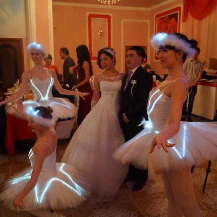 Первый танец с балеринами