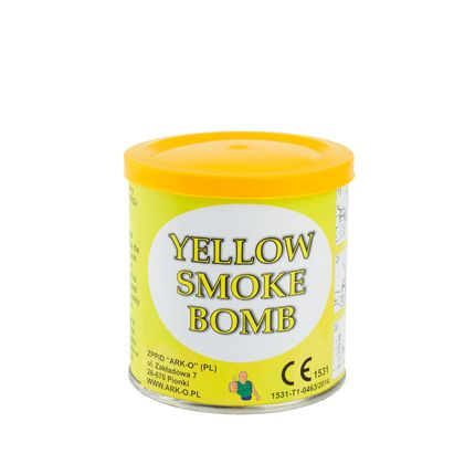 Дым Smoke bomb желтый