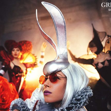 Шоу-балет Grigorian, номер Alice in Wonderland