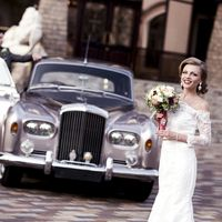 Свадьба в Москве с ретро авто