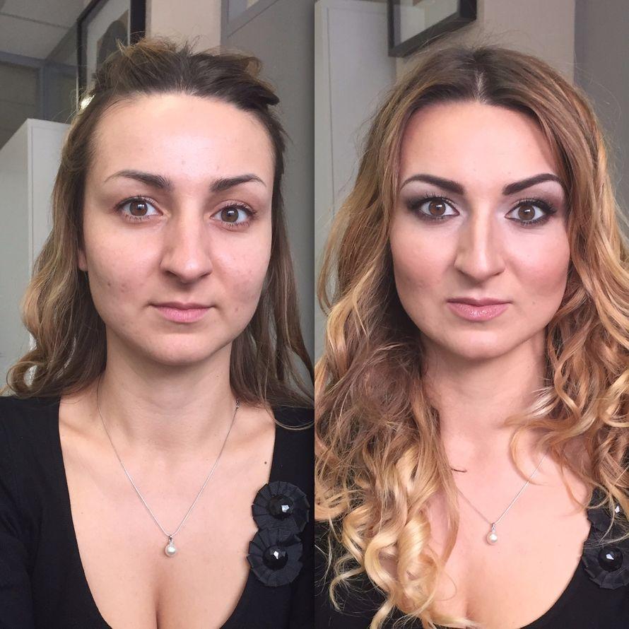 Фото 12710860 в коллекции Вечерний макияж (до/после) - Визажист Здоровьева Ирина