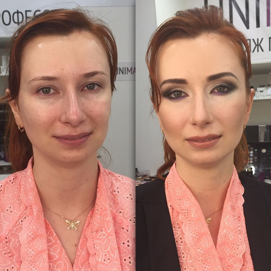 Фото 12710862 в коллекции Вечерний макияж (до/после) - Визажист Здоровьева Ирина