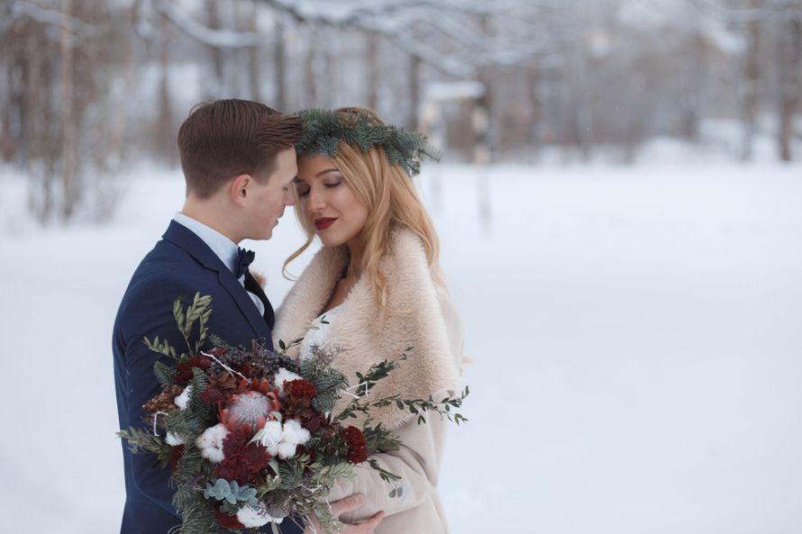 Фото 12719058 в коллекции Marsala Wedding 12/11/16 - Wood&love - студия флористики и декора
