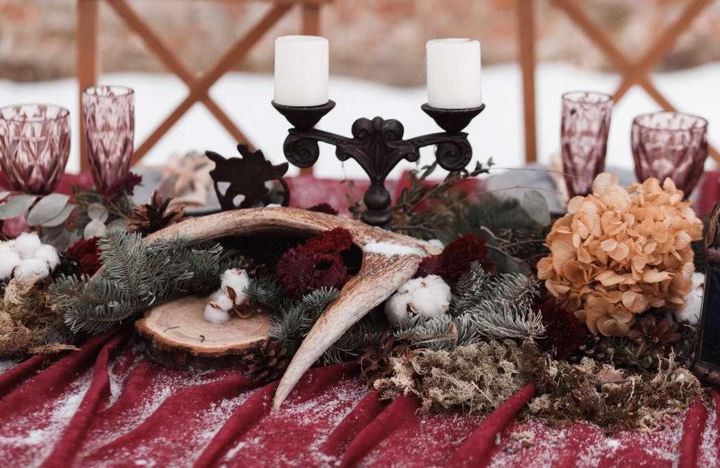 Фото 12719064 в коллекции Marsala Wedding 12/11/16 - Wood&love - студия флористики и декора