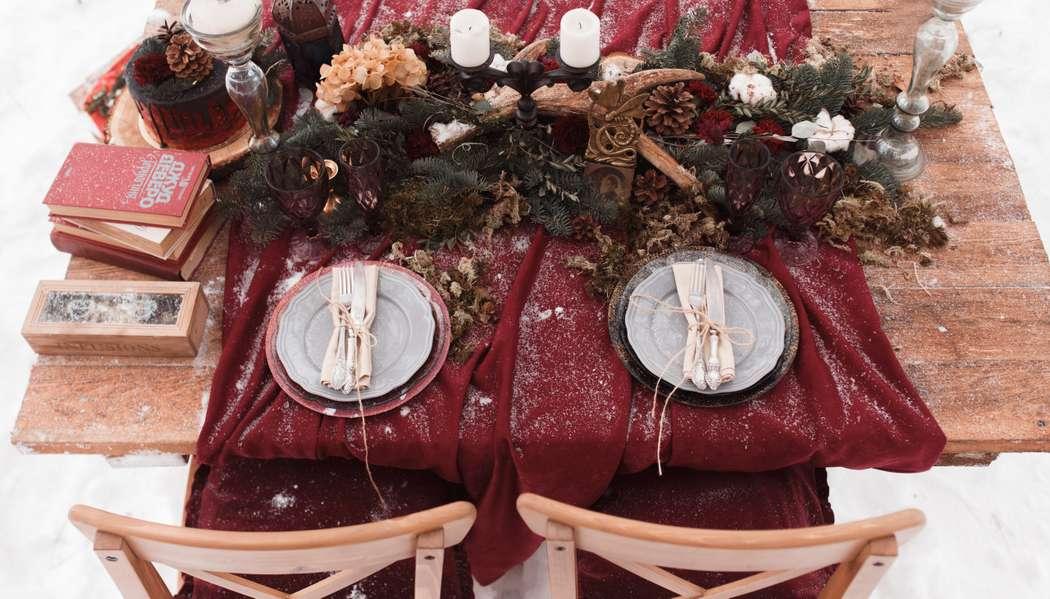 Фото 12719066 в коллекции Marsala Wedding 12/11/16 - Wood&love - студия флористики и декора