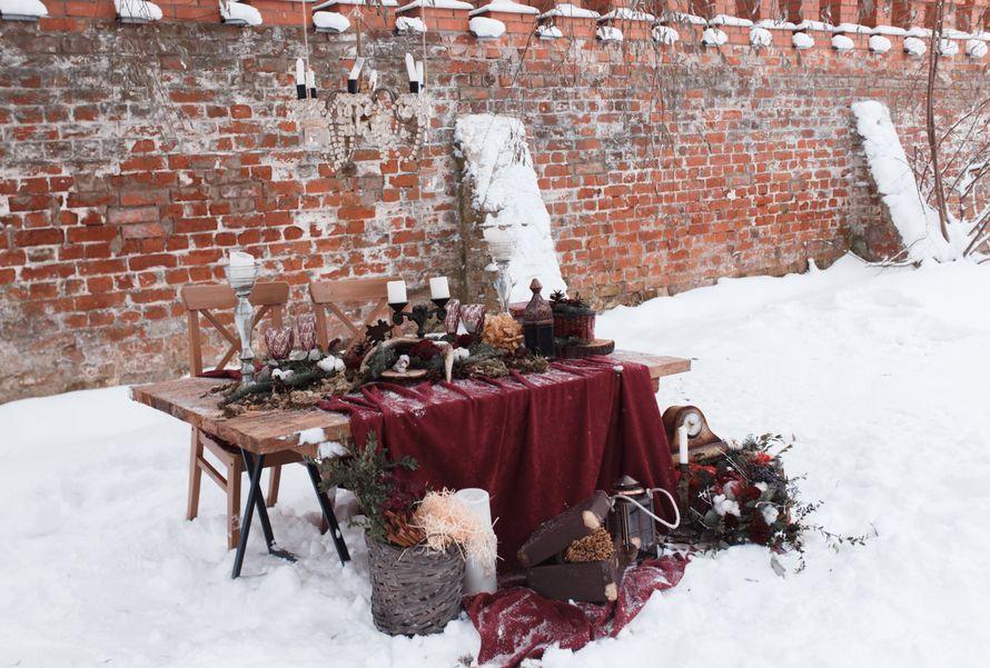 Фото 12719070 в коллекции Marsala Wedding 12/11/16 - Wood&love - студия флористики и декора
