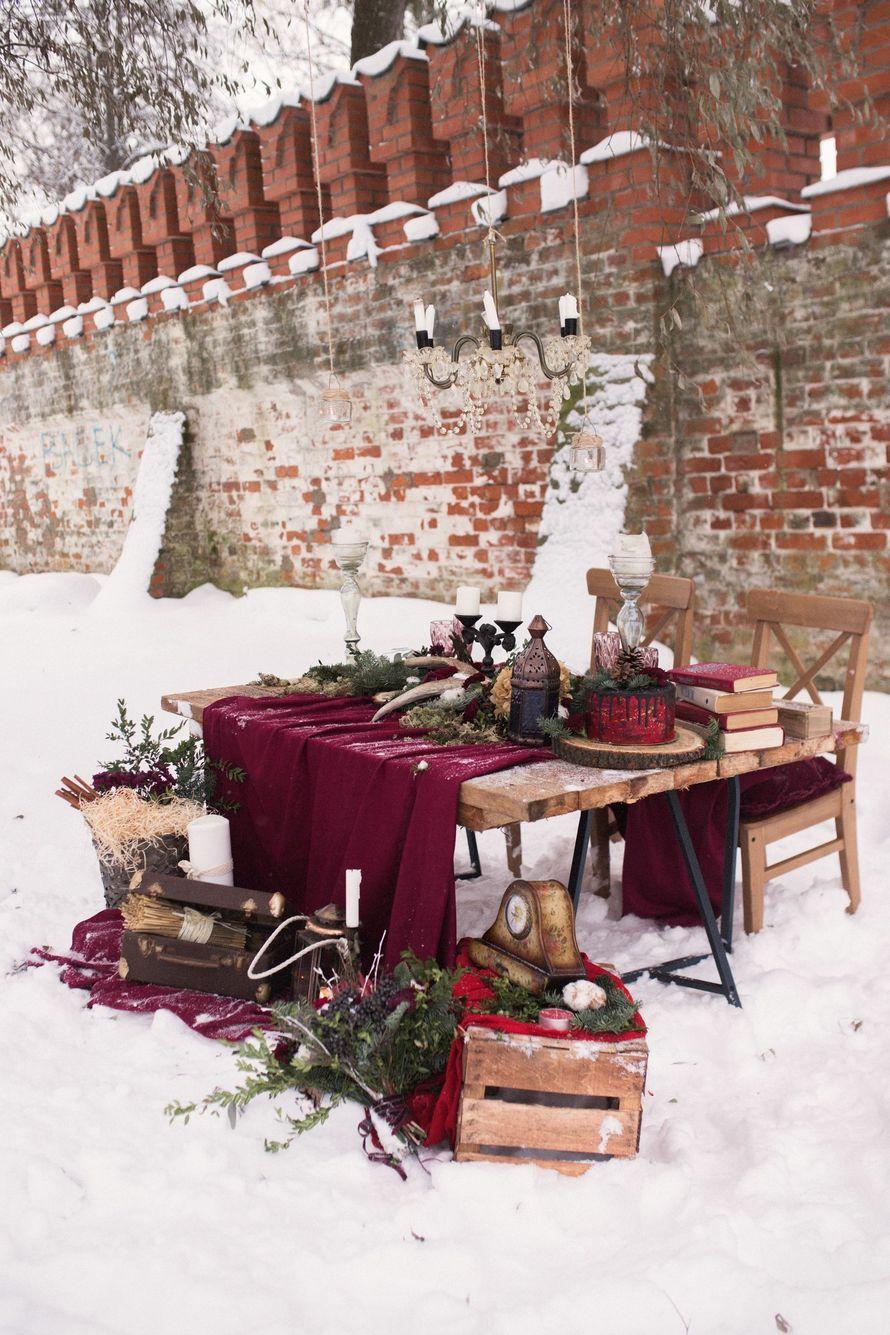 Фото 12719072 в коллекции Marsala Wedding 12/11/16 - Wood&love - студия флористики и декора