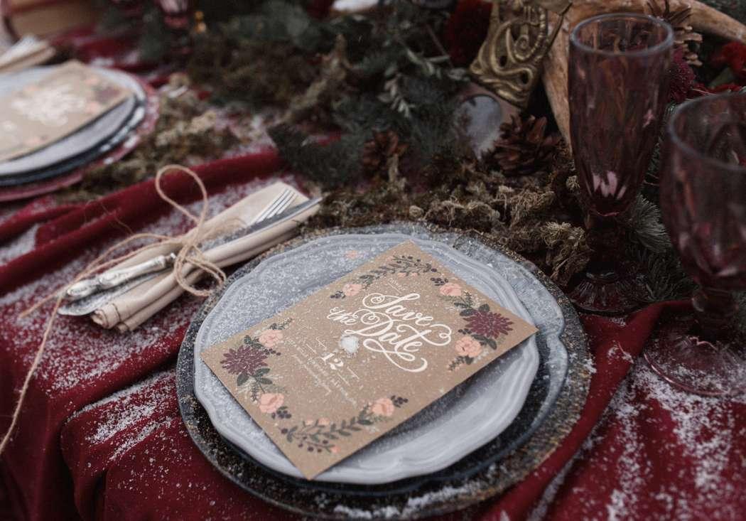 Фото 12719082 в коллекции Marsala Wedding 12/11/16 - Wood&love - студия флористики и декора