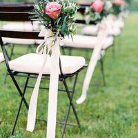 Оливковая свадьба стулья