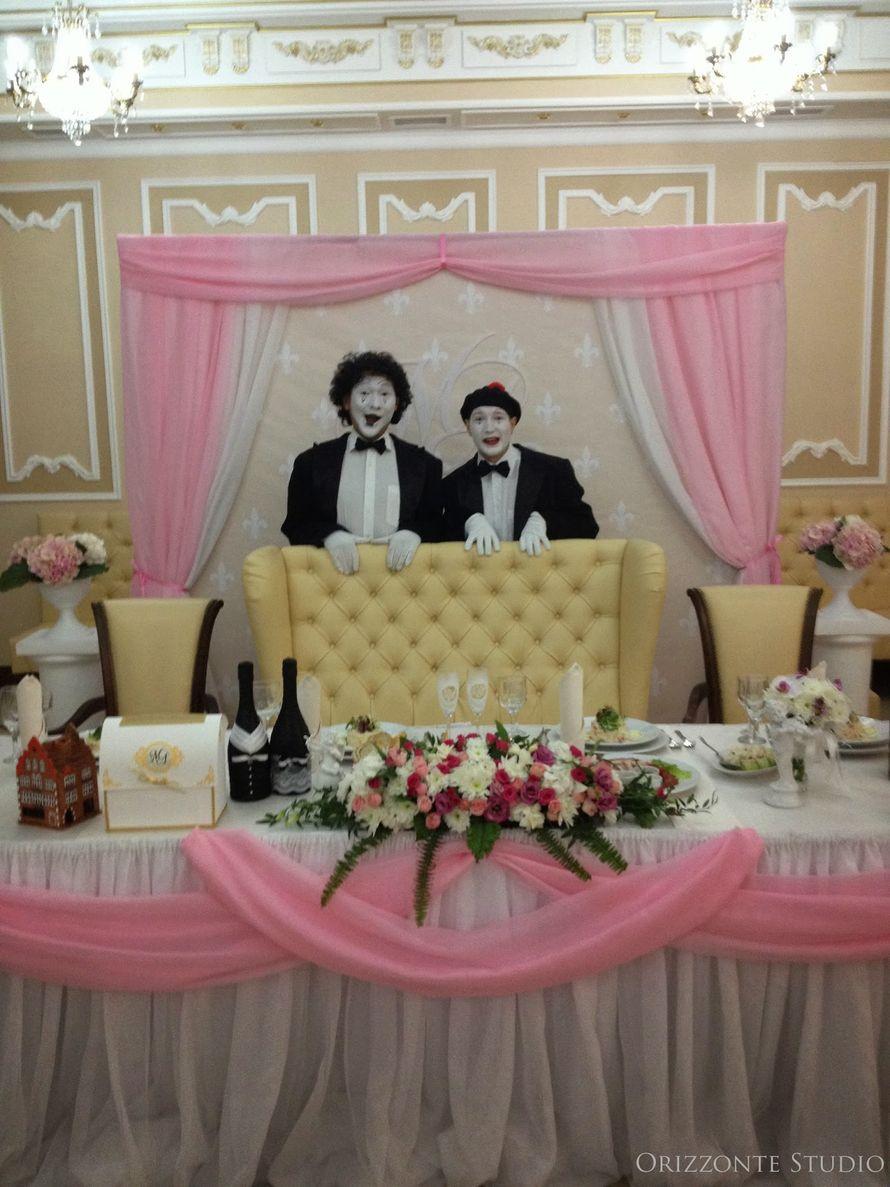 """Оформление свадебного банкета в ресторане """"Версаль"""" - фото 1552351 Orizzonte studio - свадьба под ключ"""