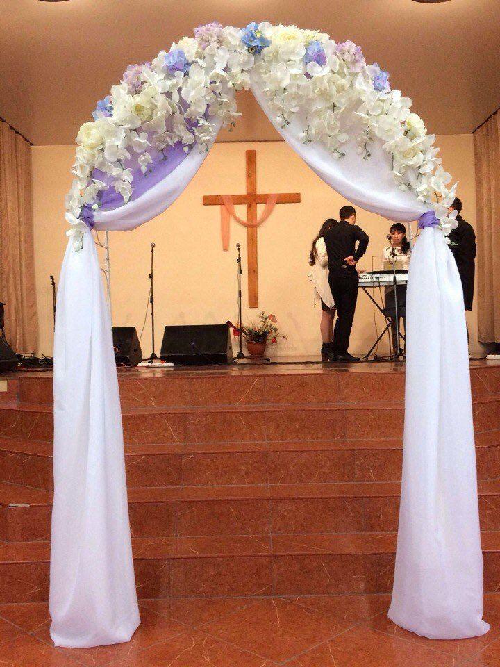Декор арки для венчания