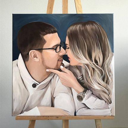 Свадебный портрет молодожён