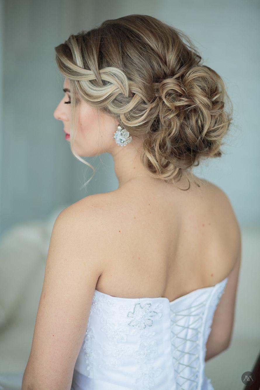 Фото 12993092 в коллекции Свадебные прически - Стилист причёсок Ксения Иващук