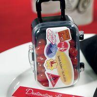 8709 Бонбоньерка чемоданчик(набор из 6 шт.)