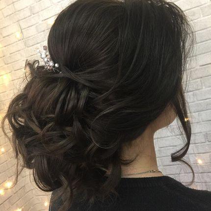 Причёска гостьи