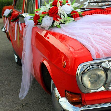 Украшение свадебного кордежа