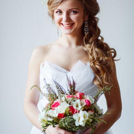 Причёска и макияж невесты