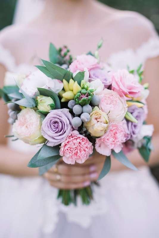 Свадебный букет для невесты Алиночки - фото 13141226 WeddWedd - дизайн