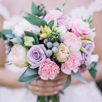 Свадебный букет для невесты Алиночки