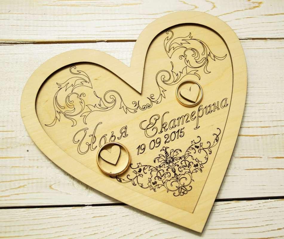 Тарелочка для колец - фото 14397726 Креафокс - аксессуары для свадьбы