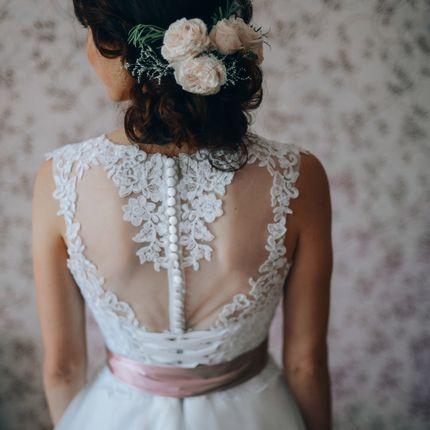 Свадебная причёска для невесты
