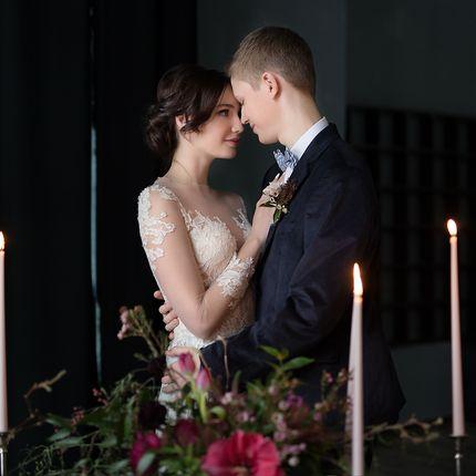 Студийная свадебная фотосессия 3 часа