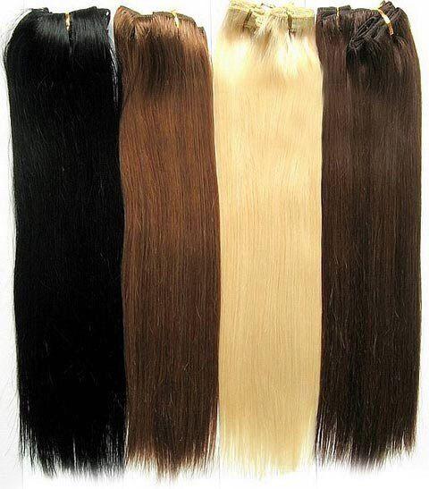 Аренда прядей на заколках из натуральных волос