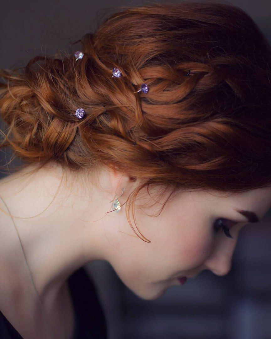 Прическа для коротких волос