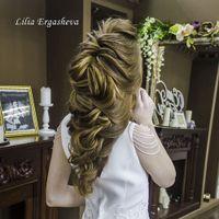 Свадебная прическа Текстурная греческая коса