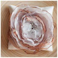 Подушечка для колец с большим цветком