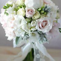 пыльные розы, винтажный букет