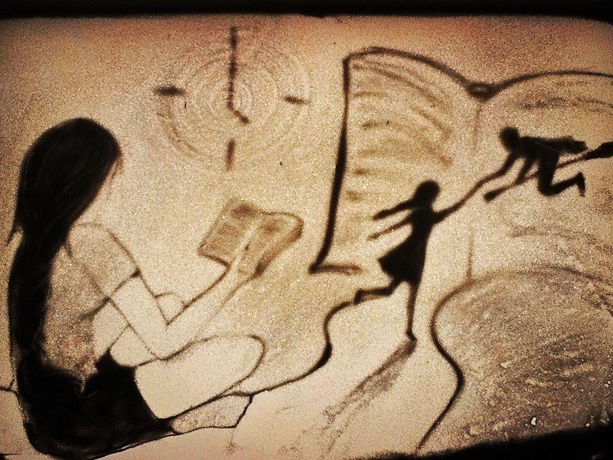 Фото 13566562 в коллекции Картины песком - Песочное шоу Песочные лилии