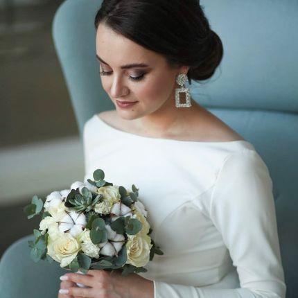 Причёска невесты без репетиции