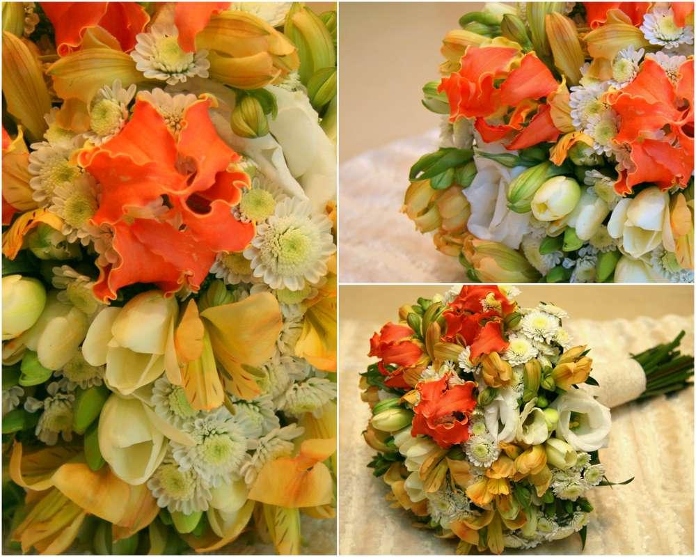 """букет невесты - фото 588068 Мастерская декора """"Flowerdesign"""""""