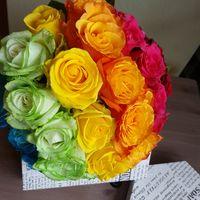 """Букет невесты """"Цвета радуги"""""""