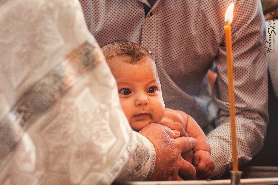 Фотосъёмка обряда крещения