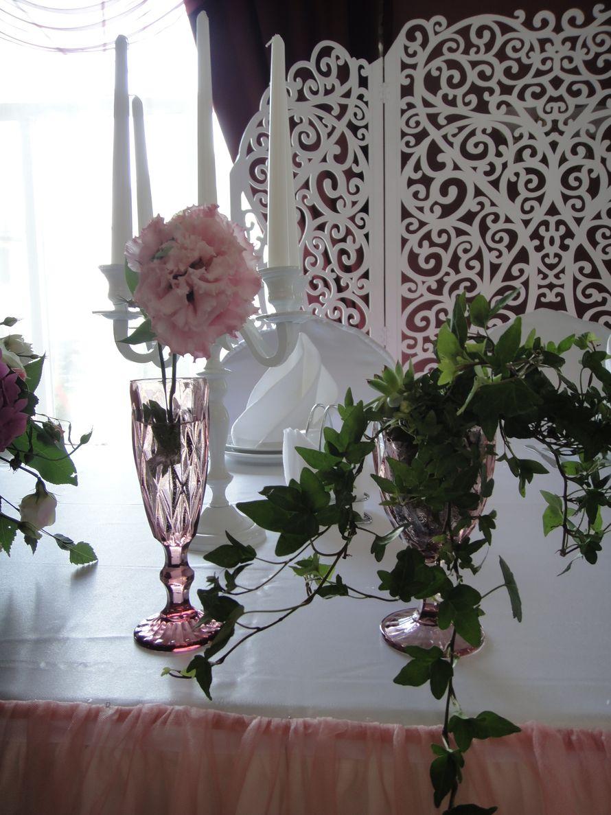 Фото 15229844 в коллекции Свадьба в розовых тонах - Студия флористики и декора Eventkyivua
