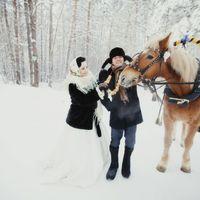 Фотограф Владимир Шаповалов Дарья и Николай ведущая Марина Нуркаева