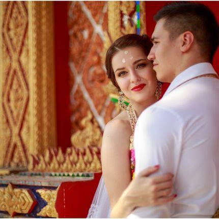 Церемония в буддийском храме