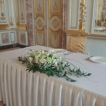Оформление зала в особняке Половцева