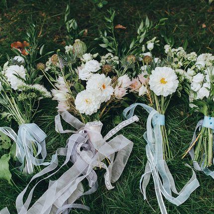 Букетики для подружек невест