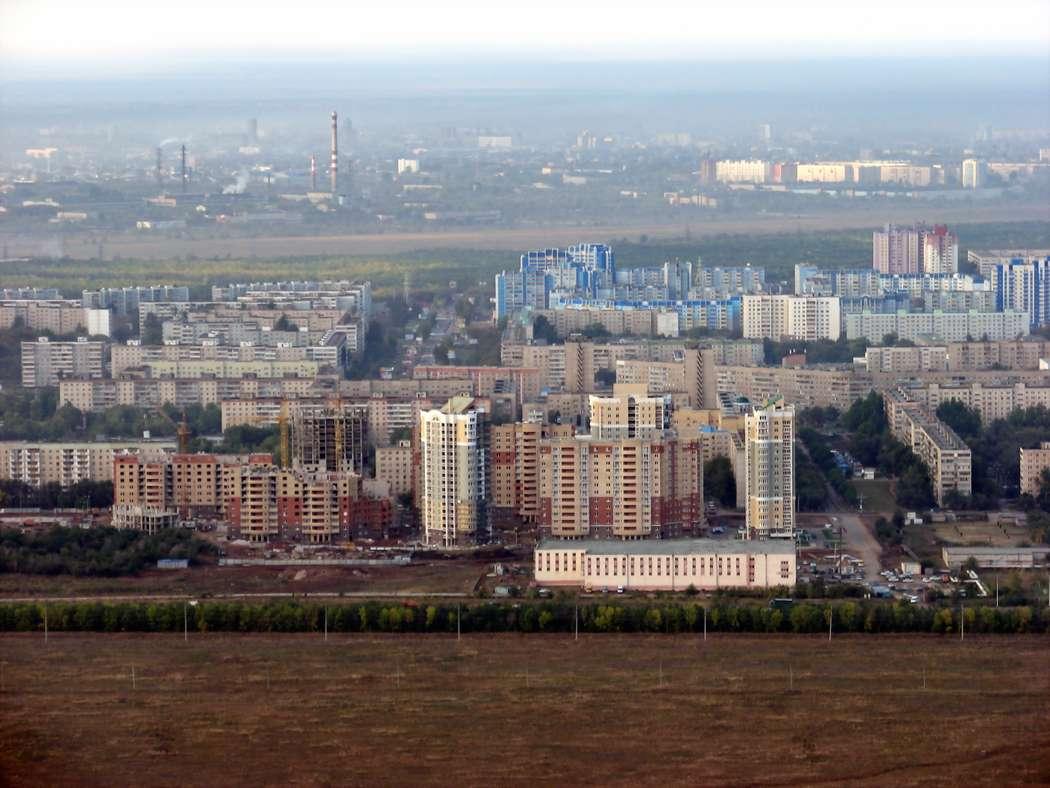 """Фото 514742 в коллекции Вид Оренбурга из вертолета - """"Другое Небо"""" - полеты на вертолете"""