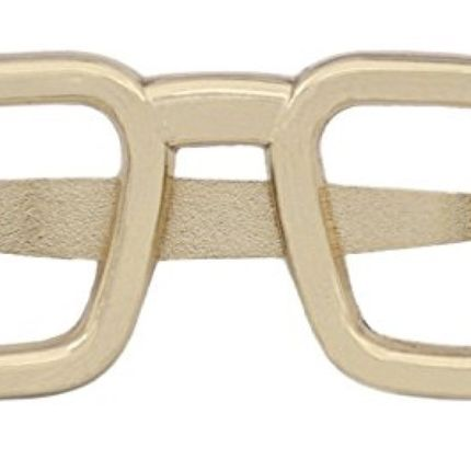 Зажим для галстука очки