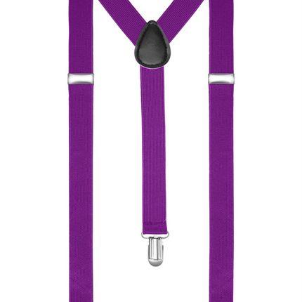 Подтяжки пурпурные