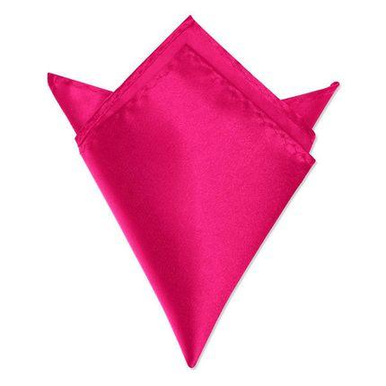 Нагрудный платок розовый