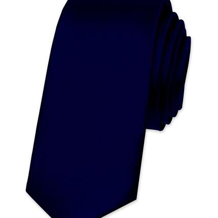 Галстук атласный Тёмно-синий