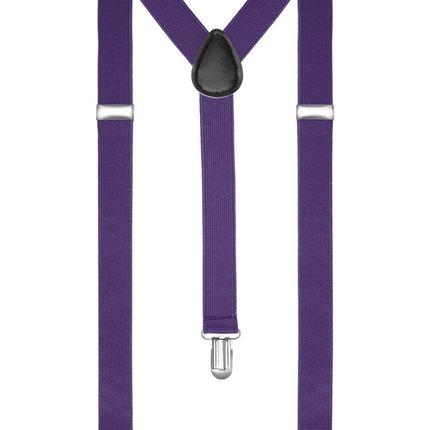 Подтяжки классические фиолетовые