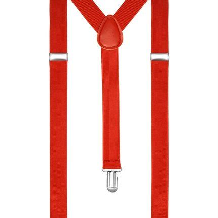 Подтяжки классические красные