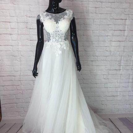 Платье в цвете айвори